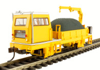 Bachmann 87902 Ballast Vehicle with Crane HO Scale Model Trains