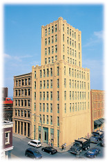 Bachmann 88003 Metropolitan Building Kit HO Scale Model Trains