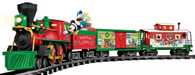 Lionel 7-11773 Mickey Mouse Ready-To-Play Christmas Train Set