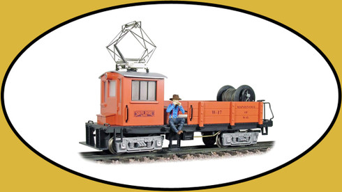 Hartland Locomotive Works 09805 Line Car, South Shore, Orange