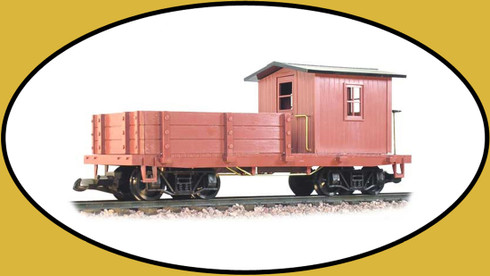 Hartland Locomotive Works Work Caboose Undecorated 05003 G Scale