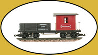 Hartland Locomotive Works Work Caboose Big John 05016 G Scale
