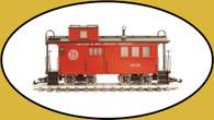 Hartland Locomotive Works Drover's Caboose Denver & Rio Grande Western 05008