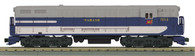 MTH O Scale RailKing 30-20239-1 FM Train Master Diesel Engine w/Proto-Sound 3.0 Cab No 554 Wabash