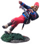 WBritain Toy Soldier 31112 Union Infantry 114th Pennsylvania Zouaves Wounded No. 2