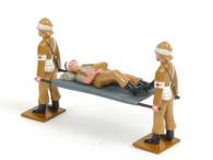 Trophy Miniatures SAS2A Royal Welsh Fusiliers Stretcher Team Boer Wars