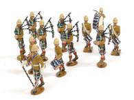 Trophy Miniatures Seaforth Highlanders Marching Band Boer War