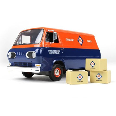 First Gear 40-0385 Allis Chalmers 1960s Ford Econoline Van 1:25 Scale Die Cast