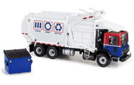First Gear Mack TerraPro Wittke Front Load Refuse Truck 1:34 Scale Diecast 10-3993