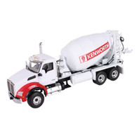 First Gear 50-3317 Kenworth T880 With Standard Mixer 1:50 Scale Engine Detail