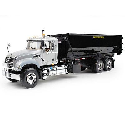 First Gear Diecast 1/34 Scale Mack Granite Tub Style Roll Off Container 10-4055