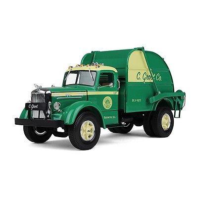 First Gear 10-4064 C Groot Co Mack L Vintage Garbage Truck 1:34 Scale Die Cast