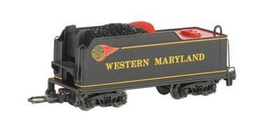 Bachmann Trains Western Maryland (Fireball) USRA Medium Coal Tender N Scale