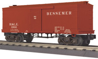MTH Electric Trains O Scale RailKing 34' Box Car (19th Century) Bessemer & Lake Erie 30-74789