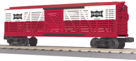 MTH Electric Trains RailKing O Gauge Model Trains Frisco Stock Car 30-7194