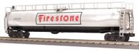 MTH Electric Trains RailKing O Gauge Model Trains Firestone 33K Gallon Tank Car