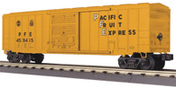 MTH Electric Trains RailKing O Gauge Model Trains Pacific Fruit Express 50' Modern Box Car 30-74811