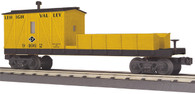 MTH Electric Trains RailKing O Gauge Model Trains Lehigh Valley Crane Tender Car 30-79441