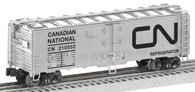 Lionel 6-17724 Canadian National Steel Sided Refrigerator Car O Scale