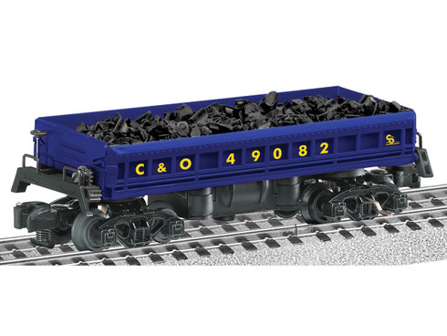 6-49082 American Flyer Lines C&O Central Coal Dump Car Gauge