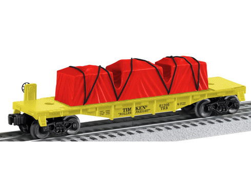 6-81205 Timken Flatcar O Gauge