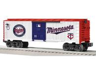Lionel 6-81923 Minnesota Twins Major League Baseball Boxcar O Gauge