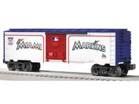 Lionel 6-81930 Miami Marlins Major League Baseball Boxcar O Gauge