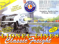 Lionel O Gauge Model Trains 6-30070 Lionel Lines Classic Freight Train Set With TrainSounds