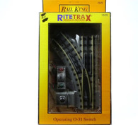 MTH RailKing 40-1005 RealTrax O-31 Left Hand Switch