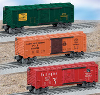 Lionel O Gauge Model Trains 6-39267 Archive Collection 6464 Box Car Three Pack No 3