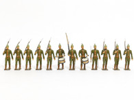 CBG Mignot Toy Soldiers Prussian Light Infantry