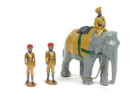 Trophy Miniatures Indian Durbar Elephant Set 2 with 3 Figures