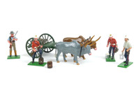 Trophy Miniatures  Zulu War Water Cart Drawn by Oxen