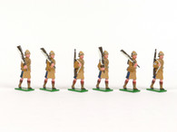 Trophy Miniatures Boar Wars Black Watch Marching with Rifles