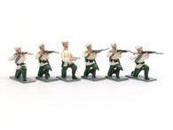 Trophy Miniatures BS5 Russian Infantry Firing Boxer Rebellion