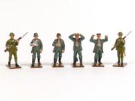 Trophy Miniatures GW10 German Prisoners with British Escort WWI