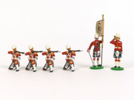 Trophy Miniatures Seaforth Highlanders Sudan Command Set