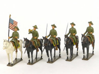 CBG Mignot Toy Soldiers Set CAV7 American Casque 1917