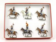 CBG Mignot Toy Soldiers Set 267A Belgium Lancers 1880