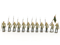 CBG Mignot Toy Soldiers INF12 Foreign Legion Infantry Marching