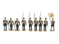 CBG Mignot Toy Soldiers G7A Greek Infantry League