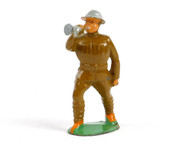 Manoil Toy Soldiers MAN-BUG, Military musician, Bugler with hollow base