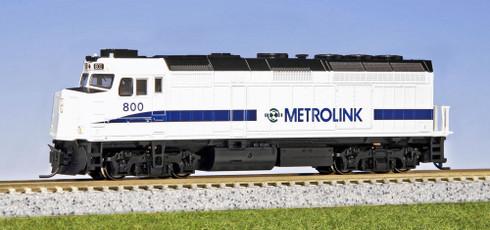 Kato EMD F40PH Metrolink Diesel Locomotive Cab #800