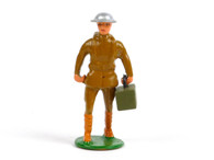 Holt's Hobbies HOLT-002, WWI Soldier carrying stretcher. with tin hat