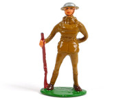 Holt's Hobbies HOLT-001, WWI Soldier standing at ease with rifle