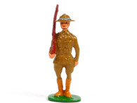 Holt's Hobbies HOLT-003, WWI Soldier standing with slanted rifle
