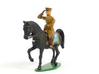 Holt's Hobbies HOLT-006, Mounted officer saluting, riding black horse