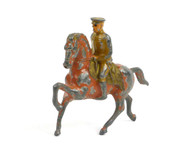 Grey Iron Toy Soldiers GI-003, Officer riding red horse