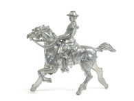 Grey Iron Toy Soldiers GI-004, iron cast metal horse and rider