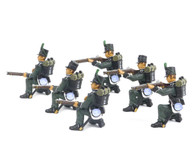 Frontline Figures, 95.R.B.1. British 95th Rifle Brigade Firing, Loading